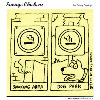 Savage Chickens Comic Strip for April 12, 2016