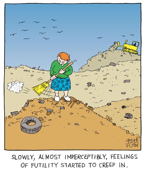 Brevity Comic Strip for February 26, 2005