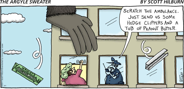 The Argyle Sweater for Sep 4, 2011 Comic Strip