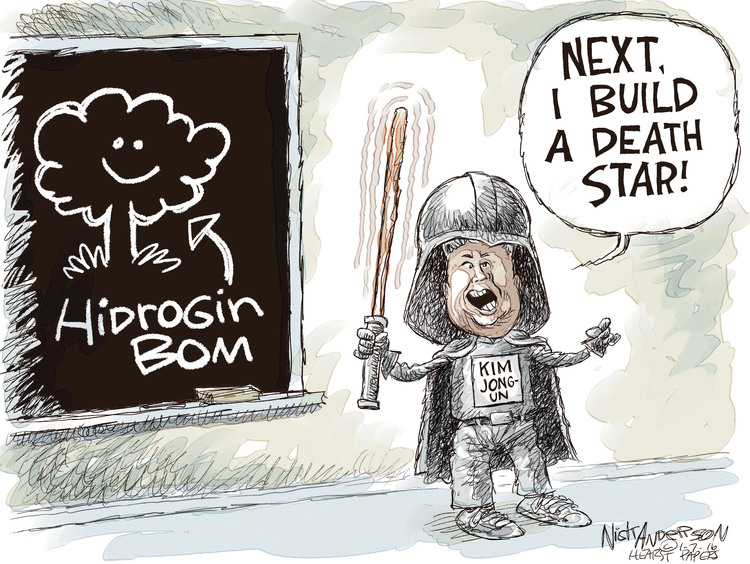Nick Anderson Comic Strip for January 07, 2016