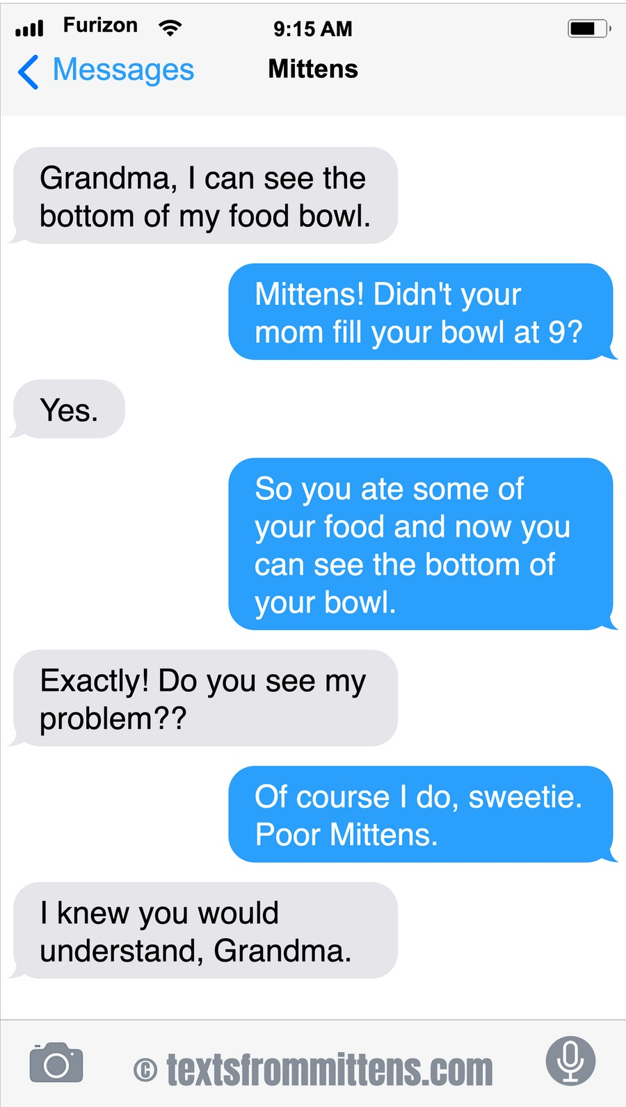 Texts From Mittens by Angie Bailey on Sun, 03 Oct 2021