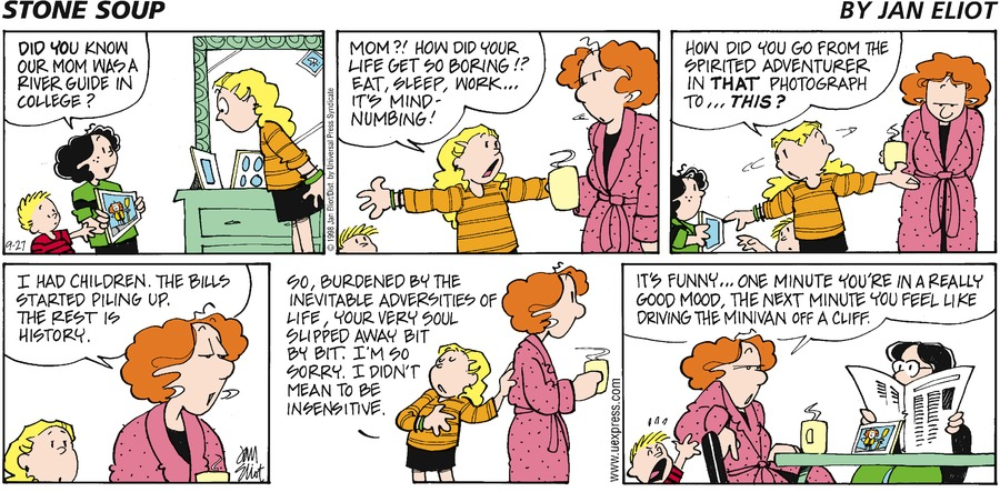 Stone Soup for Sep 27, 1998 Comic Strip