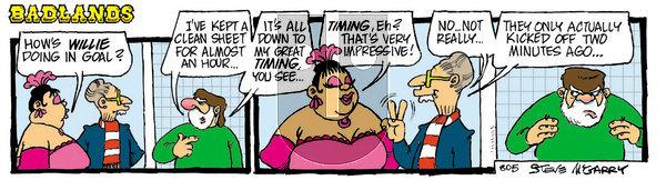 Badlands - Thursday May 6, 2021 Comic Strip