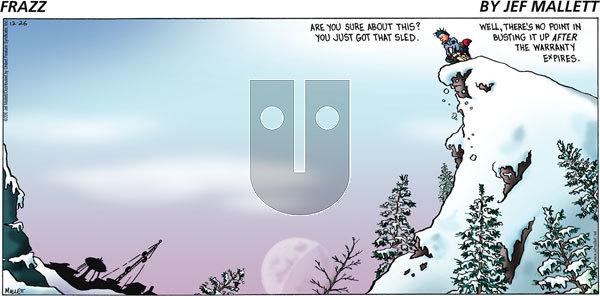 Frazz - Sunday December 26, 2010 Comic Strip