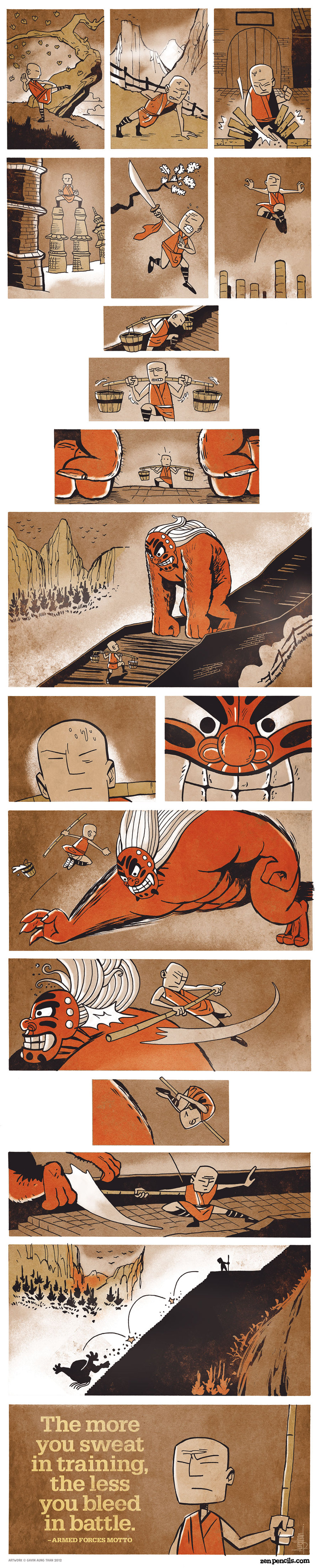 Zen Pencils Comic Strip for January 12, 2015
