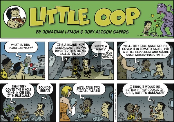 Alley Oop on Sunday August 4, 2019 Comic Strip