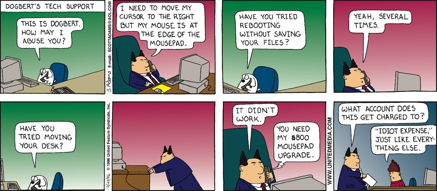 Dilbert Classics Comic Strip for November 29, 2020