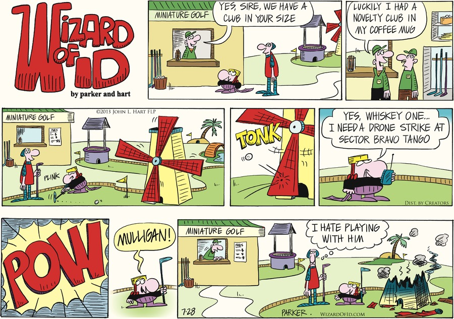 Wizard of Id for Jul 28, 2013 Comic Strip
