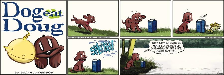 Dog Eat Doug Comic Strip for July 06, 2014