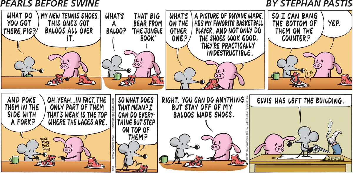 Pearls Before Swine Comic Strip for January 30, 2011