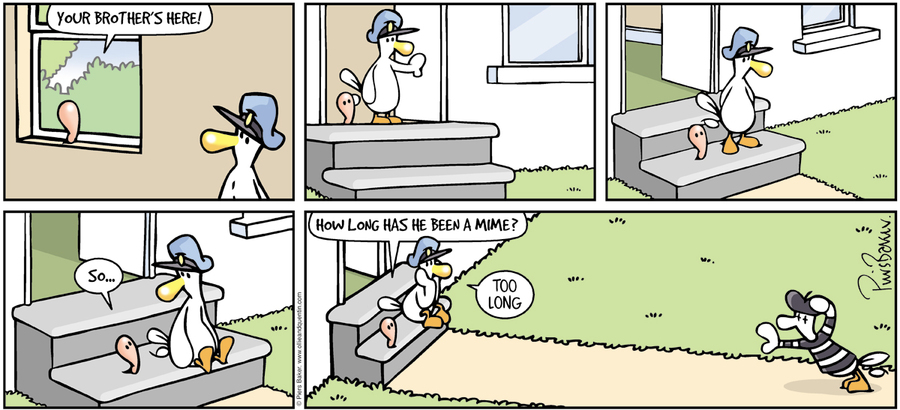 Ollie and Quentin Comic Strip for April 24, 2016