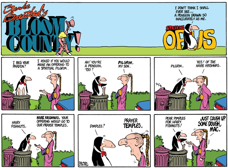 Bloom County for Sep 13, 2017 Comic Strip
