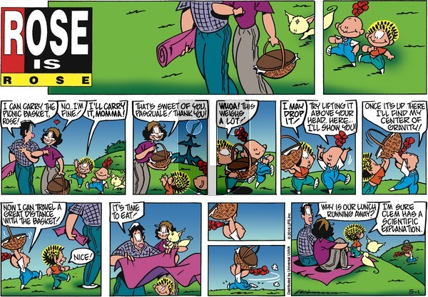 Rose is Rose on Sunday May 1, 2016 Comic Strip
