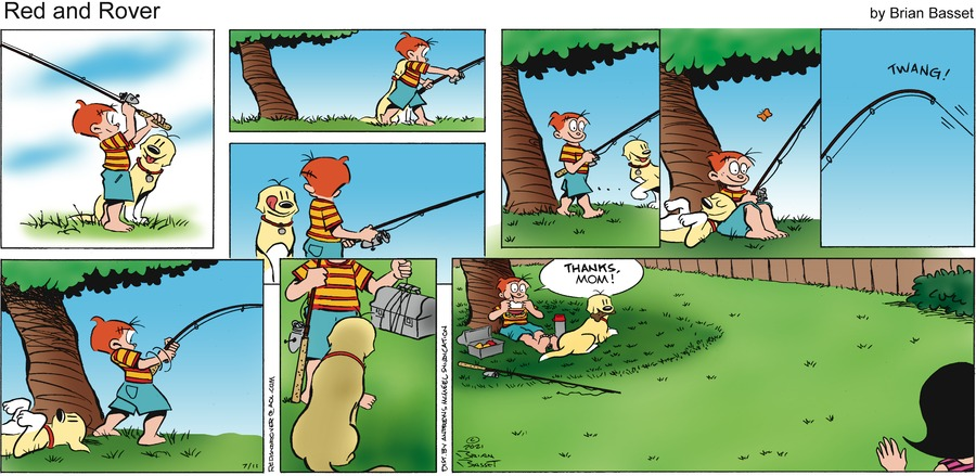 Red and Rover Comic Strip for July 11, 2021