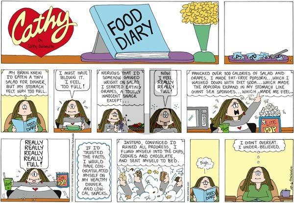 Cathy on Sunday October 6, 2013 Comic Strip
