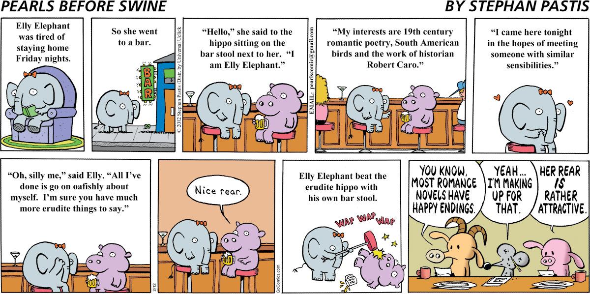 Pearls Before Swine for Feb 12, 2012 Comic Strip