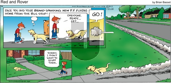 Red and Rover on Sunday September 8, 2019 Comic Strip