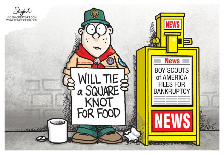 Tom Stiglich Comic Strip for February 20, 2020