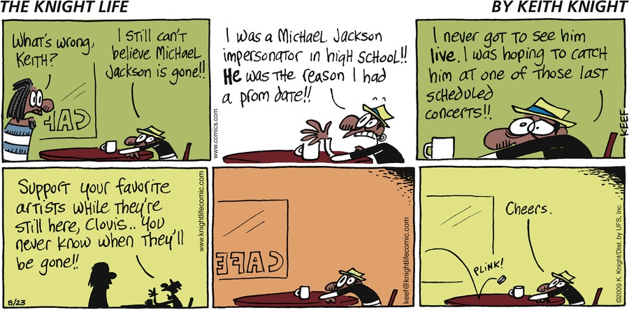 The Knight Life Comic Strip for March 28, 2021