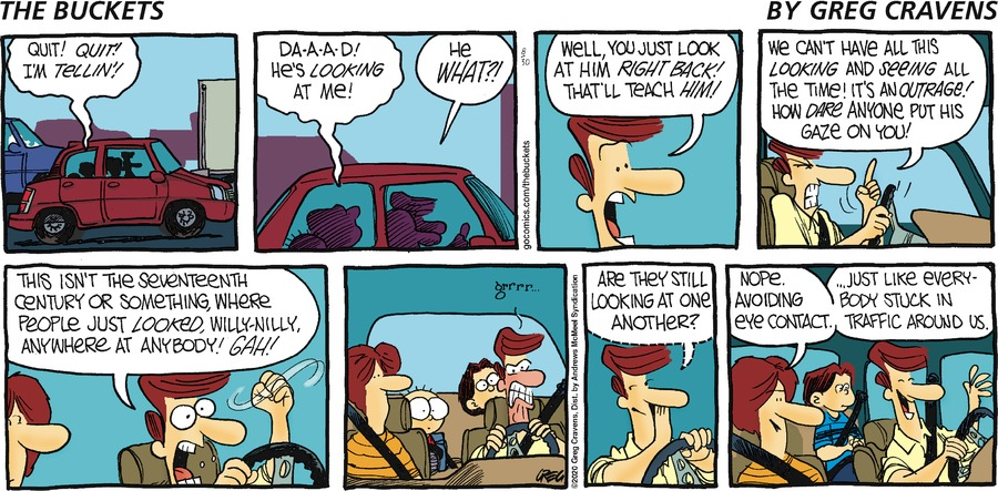 The Buckets Comic Strip for August 30, 2020
