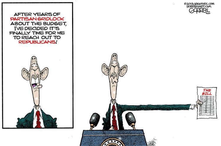 Bob Gorrell for Mar 12, 2013 Comic Strip