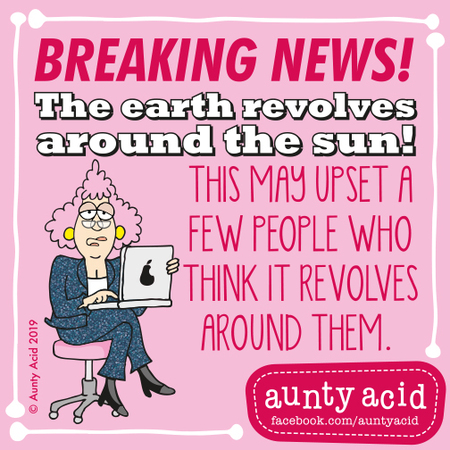 Aunty Acid Comic Strip for May 15, 2019