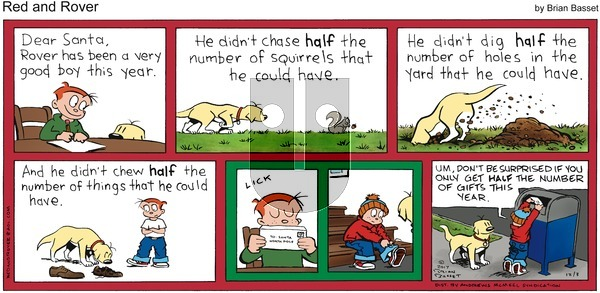 Red and Rover on Sunday December 3, 2017 Comic Strip