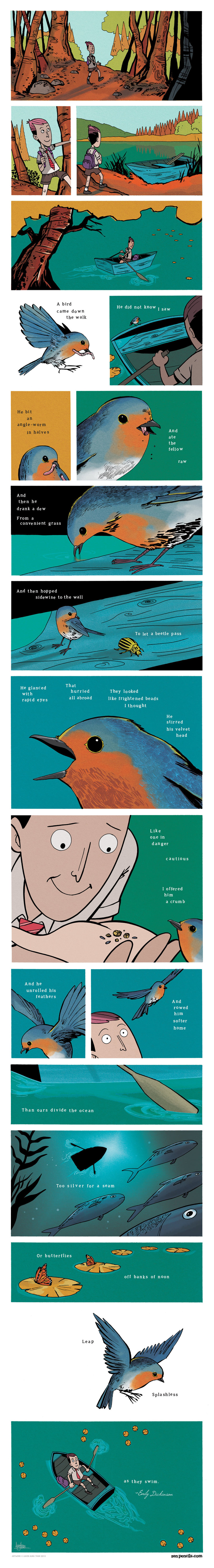 Zen Pencils Comic Strip for February 14, 2014