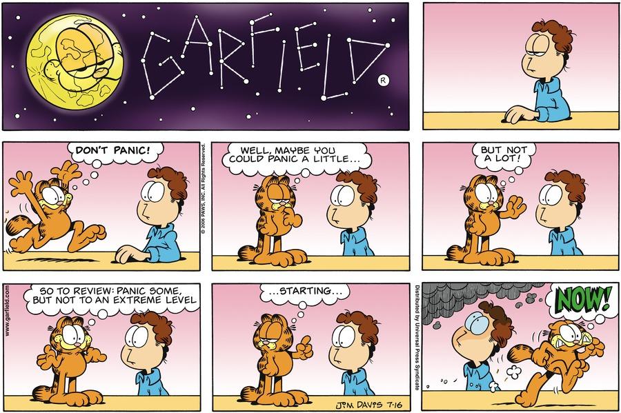 Garfield Comic Strip for July 16, 2006