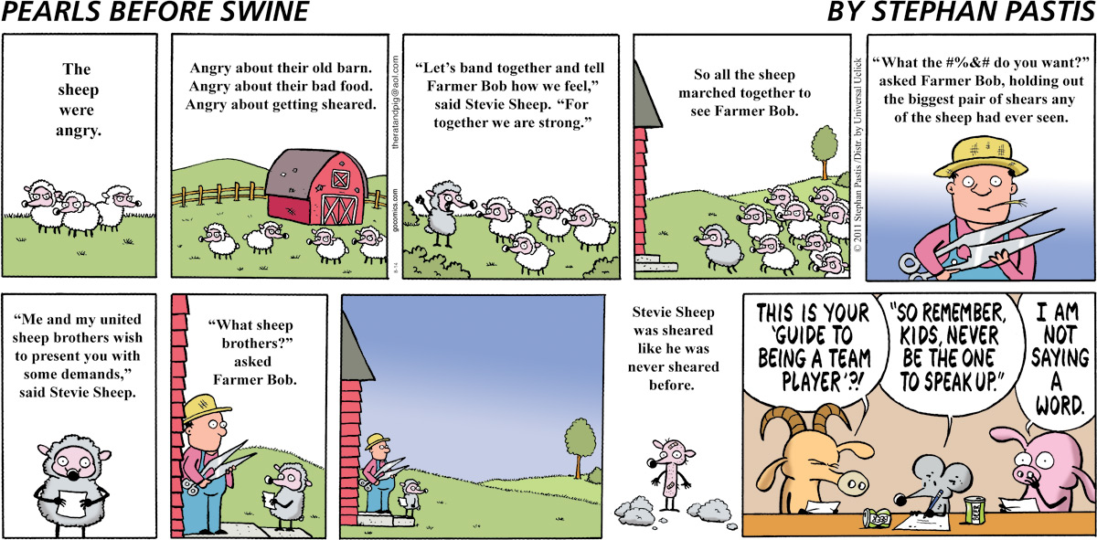 Pearls Before Swine Comic Strip for August 14, 2011