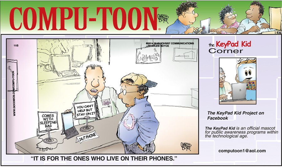 Compu-toon Comic Strip for November 02, 2014