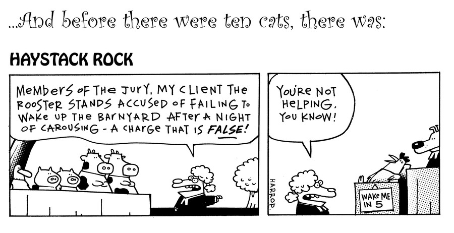 Ten Cats Comic Strip for July 12, 2019