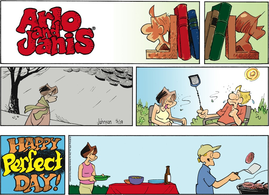 Arlo and Janis Comic Strip for May 19, 2019