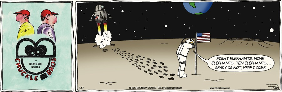 Chuckle Bros Comic Strip for February 17, 2013