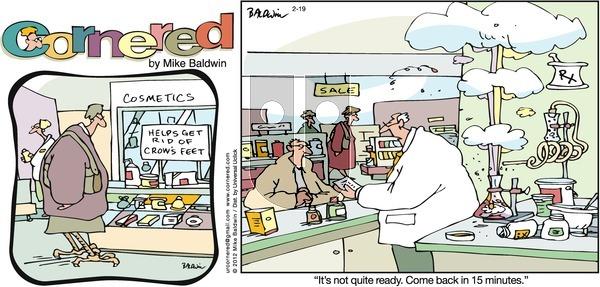 Cornered on Sunday February 19, 2012 Comic Strip