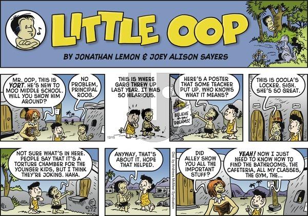 Alley Oop - Sunday December 15, 2019 Comic Strip