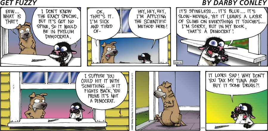 Get Fuzzy Comic Strip for March 15, 2020