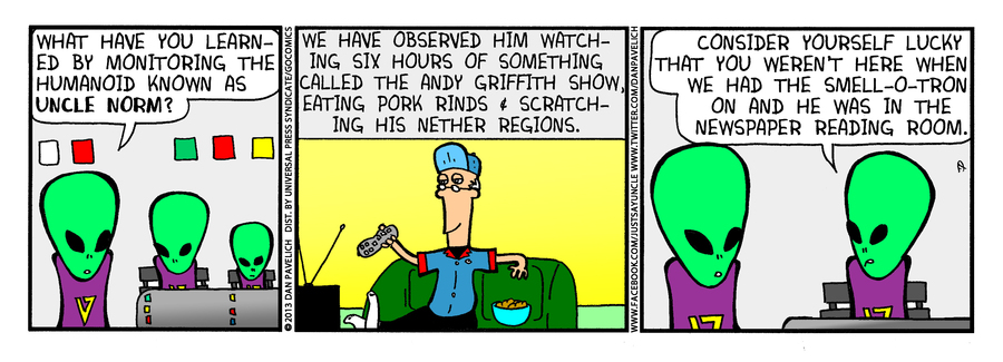 Just Say Uncle for Jun 7, 2013 Comic Strip