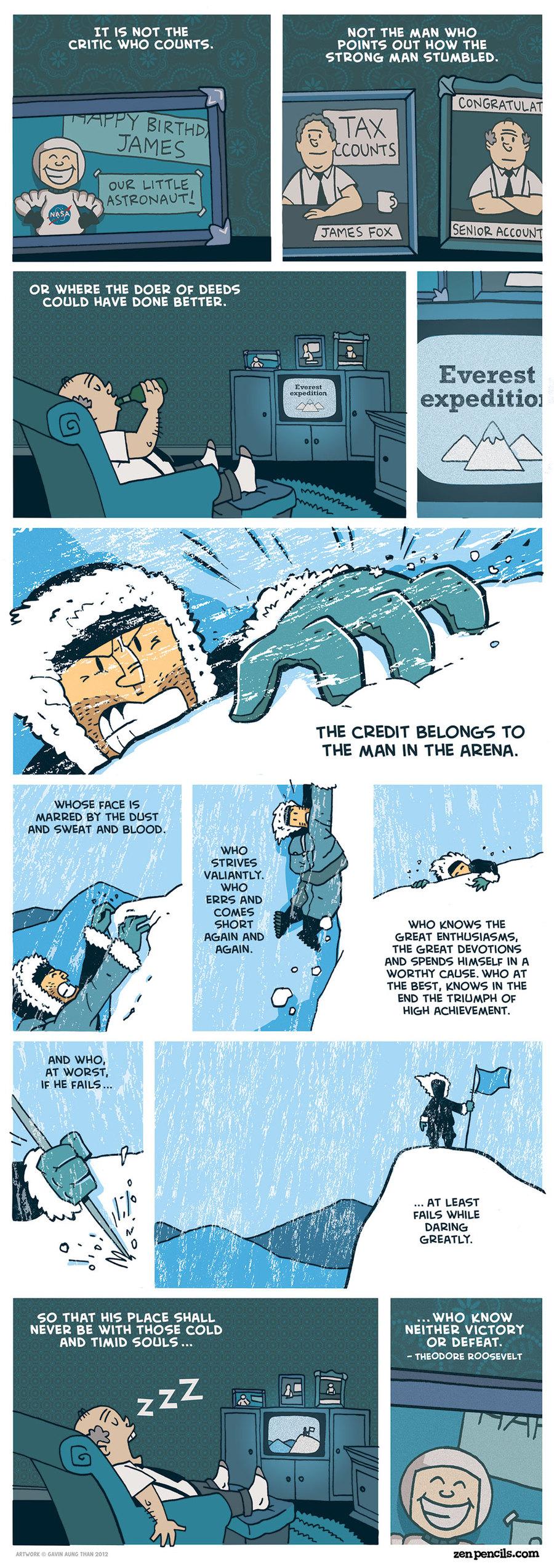 Zen Pencils Comic Strip for December 22, 2014