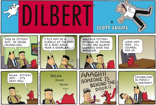 Dilbert - Sunday May 20, 2001 Comic Strip
