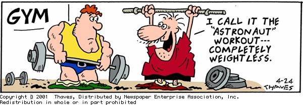 Frank and Ernest Comic Strip for April 24, 2001
