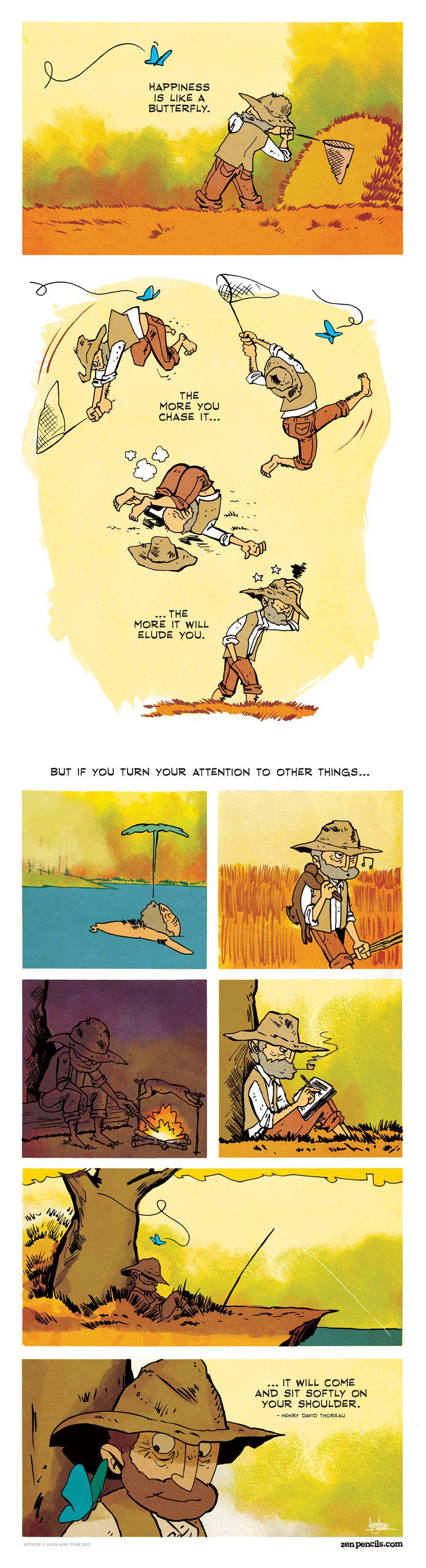 Zen Pencils Comic Strip for November 30, 2015
