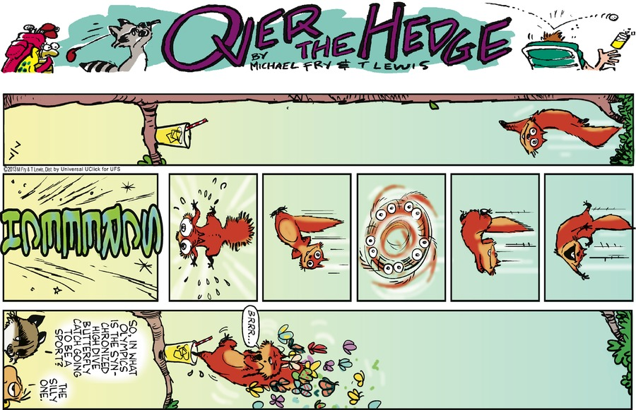 Over the Hedge Comic Strip for July 07, 2013