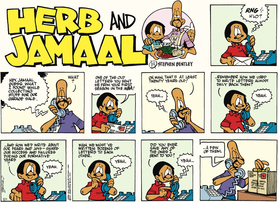 Herb and Jamaal Comic Strip for May 15, 2016