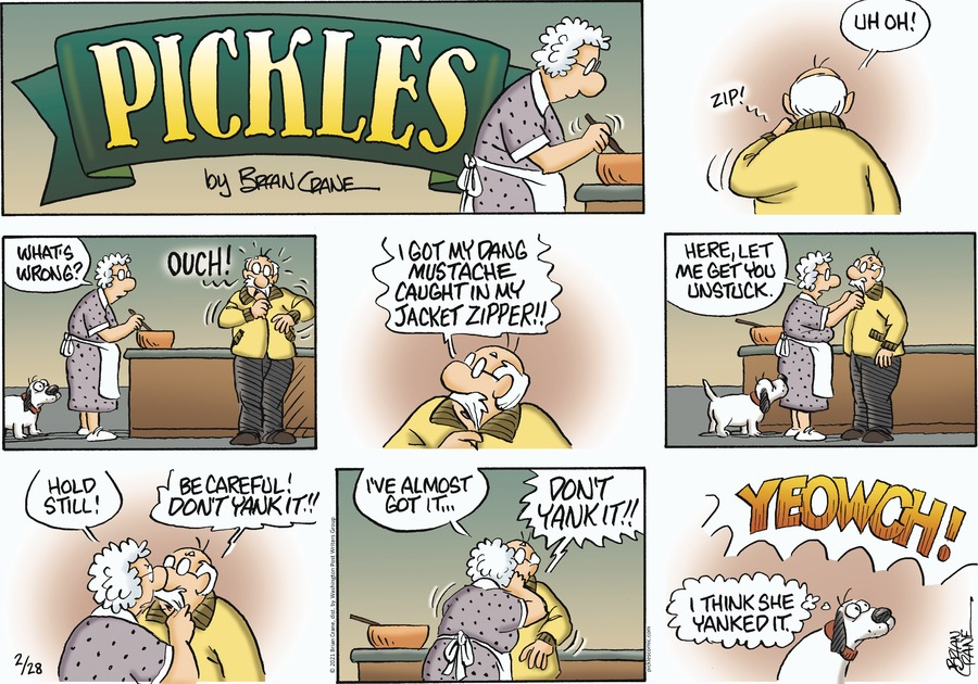 Pickles Comic Strip for February 28, 2021