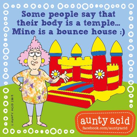 Aunty Acid Comic Strip for September 21, 2019