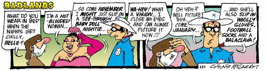 Badlands Comic Strip for December 03, 2020