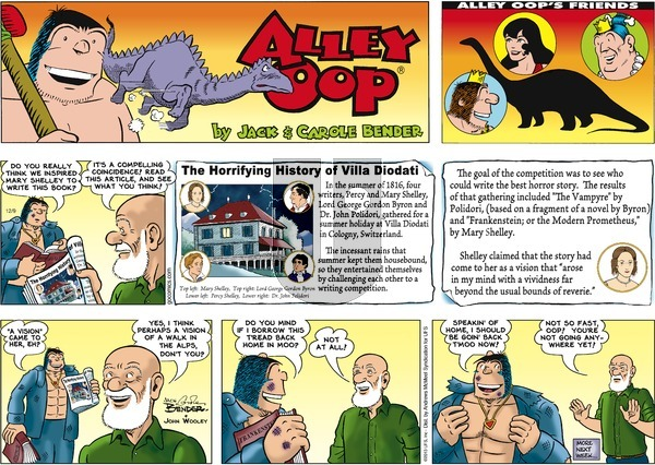 Alley Oop on Sunday December 9, 2018 Comic Strip