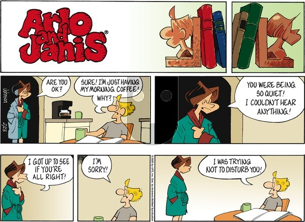 Arlo and Janis on Sunday February 23, 2020 Comic Strip