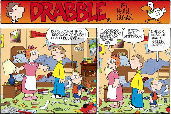 Drabble on Sunday August 30, 2009 Comic Strip